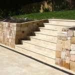 Retaining walls and stone work Upper North Shore
