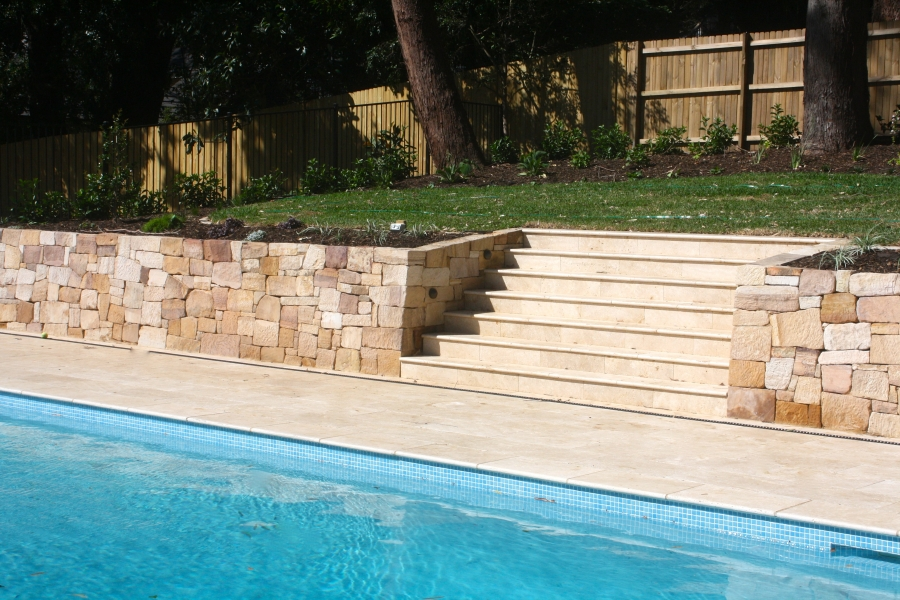 Pool landscaping Killara