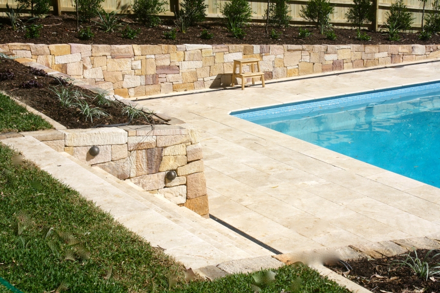 Retaining walls and stone work